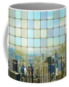 New York Golden Panorama Coffee Mug