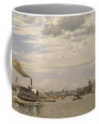 New York Harbor From Bedloe's Island Coffee Mug