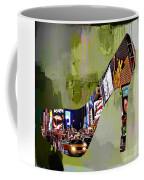 New York In A Shoe Coffee Mug