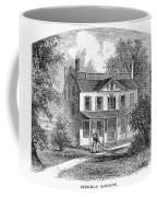 New York: Mansion, 1763 Coffee Mug