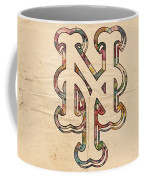 New York Mets Poster Art Coffee Mug