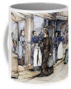 New York Milliner, 1889 Coffee Mug