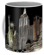 New York New York In Las Vegas Coffee Mug