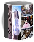 New York Nyc Collage Coffee Mug