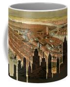 New York Old And New Coffee Mug