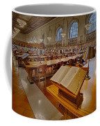 New York Public Library Rose Main Reading Room  Coffee Mug