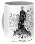 New York: Sanitation, 1885 Coffee Mug