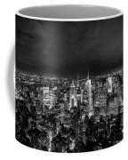 New York Skyline 3bw Coffee Mug
