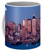 New York Skyline At Dusk Coffee Mug