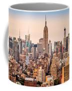 New York Skyline Panorama Coffee Mug