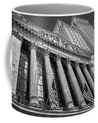 New York Stock Exchange Wall Street Nyse Bw Coffee Mug