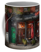 New York - Store - Greenwich Village - Sweet Life Cafe Coffee Mug by Mike Savad