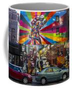 New York Street Scene Coffee Mug