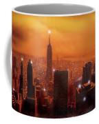 New York Sunset Coffee Mug by Steve Crisp