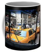 New York Taxi Cabs Coffee Mug