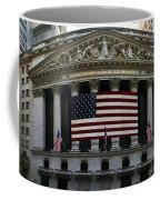 New York - Wall Street Panoramic Coffee Mug