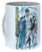 New York Yankees Artwork Coffee Mug by Robert Joyner