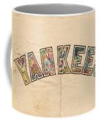 New York Yankees Poster Art Coffee Mug