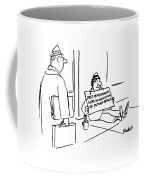 New Yorker April 30th, 1990 Coffee Mug by Frank Modell