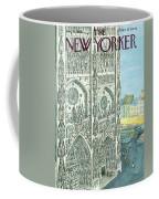 New Yorker August 13th, 1966 Coffee Mug
