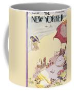 New Yorker August 14th, 1937 Coffee Mug