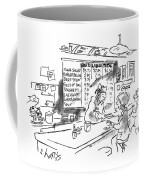 New Yorker August 21st, 1995 Coffee Mug