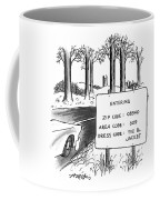 New Yorker February 1st, 1993 Coffee Mug