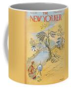 New Yorker January 12th, 1957 Coffee Mug