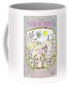 New Yorker January 13th, 1986 Coffee Mug
