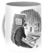New Yorker January 19th, 1998 Coffee Mug