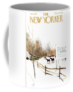 New Yorker January 6th, 1962 Coffee Mug