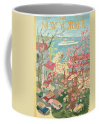 New Yorker January 8th, 1955 Coffee Mug