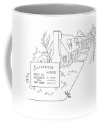 New Yorker July 25th, 1942 Coffee Mug