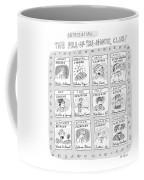 New Yorker June 8th, 1998 Coffee Mug