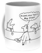 New Yorker March 17th, 1997 Coffee Mug
