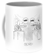 New Yorker October 26th, 1992 Coffee Mug by Robert Mankoff