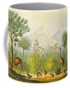 New Zealand Kiwi, Takahe, Extinct Moa Coffee Mug