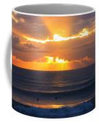 New Zealand Surfing Sunset Coffee Mug