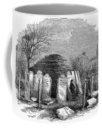 Newark Cemetery, 1876 Coffee Mug