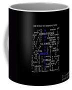 Newfoundland Labrador Canada Crosswords Coffee Mug