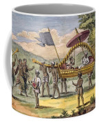 Newly Married Couple Being Taken Coffee Mug by Pierre Sonnerat