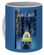 Newlywed Couple In A Taxi Coffee Mug