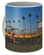 Newport Beach At Dusk Coffee Mug by Kelley King