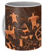 Newspaper Rock Close-up Coffee Mug