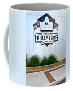 Nfl Hall Of Fame Coffee Mug by Frozen in Time Fine Art Photography