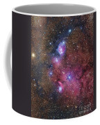 Ngc 6559 Emission And Reflection Coffee Mug
