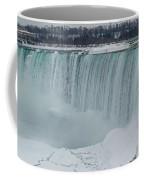Niagara Falls Canada In Winter Coffee Mug