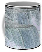 Niagara Falls Contour Drawing Effect Coffee Mug