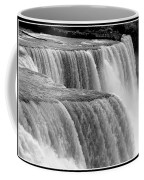 Niagara Falls In Black And White Coffee Mug