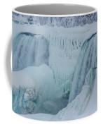 Niagara Falls Usa In Winter Coffee Mug